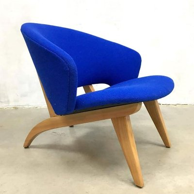 Vintage Dutch design easy chair by Theo Ruth for Artifort