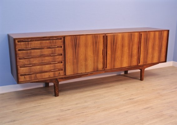 Danish XL sideboard in rosewood by Skovby, 1960s