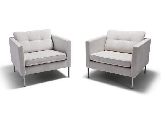 Pair of Rare 'Model 446' Club Chairs by Pierre Paulin for Artifort, 1968