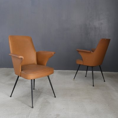 Pair of chairs by Nino Zoncada, 1950s