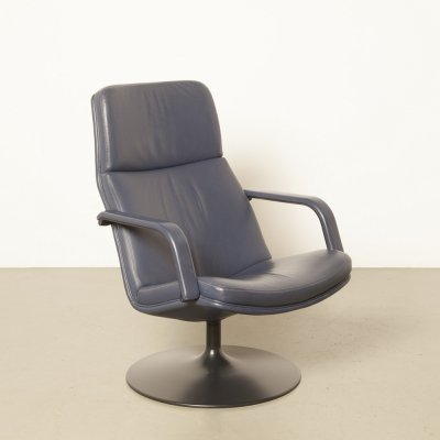 2 x F156 arm chair by Geoffrey Harcourt for Artifort, 1960s