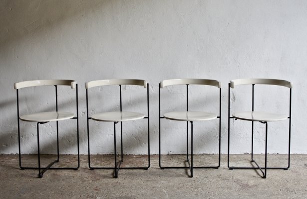 Set of 4 Kusch And Co 'Soley' Dining Chairs by Valdimar Harðarson