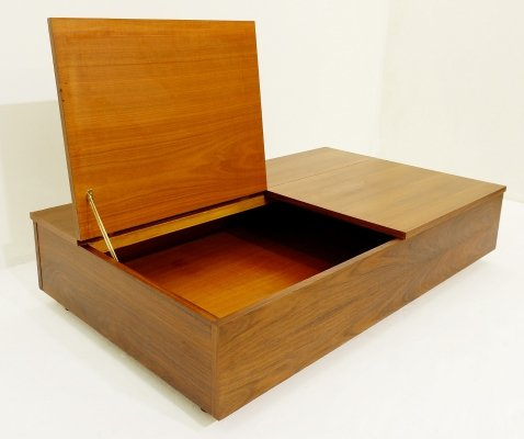 Coffee Table With Two Opening Compartments