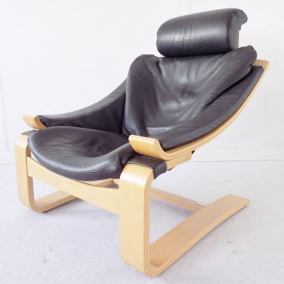 Limited Edition 'Kroken' lounge chair by Ake Fribyter for Nelo Mobel, 1999
