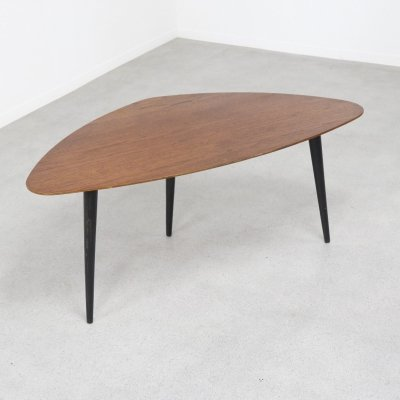 Rare TB39 kidney shaped coffee table by Cees Braakman for Pastoe, NL 1953