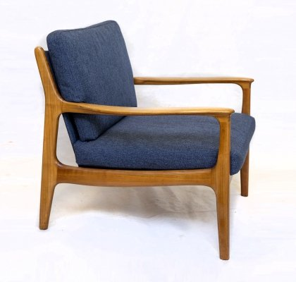 Cherrywood Lounge Chair by Eugen Schmidt / Soloform