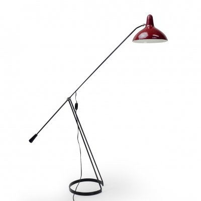 Vintage 'Tivoli' Grasshopper Floor Lamp by Floris H. Fiedeldij for Artimeta