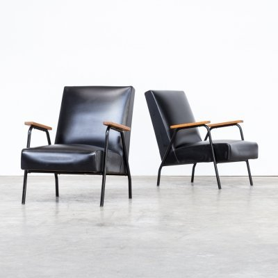 Pair of Pierre Guariche 'Rio' chairs for Meurop, 1960s