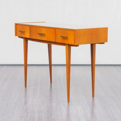 Midcentury console table in cherrywood, 1960s