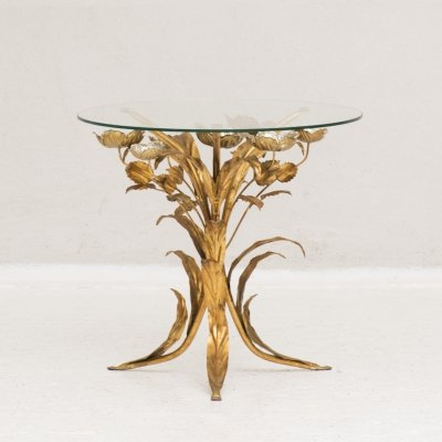 Hollywood regency side table by Hans Kögl, Italy 1960's