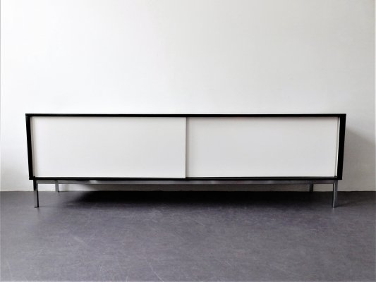 Large black & white KW85 sideboard by Martin Visser for 't Spectrum