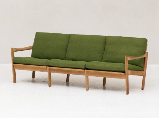 3-seater sofa by Illum Wikkelso for N. Eilersen, Denmark 1960's