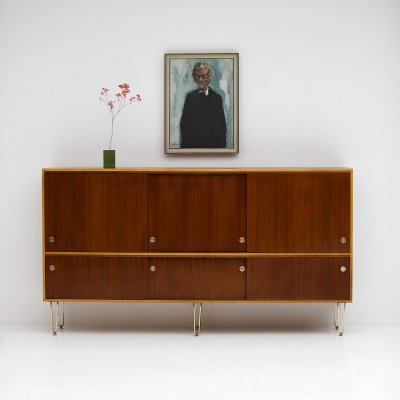 Early production Sideboard by Alfred Hendrickx for Belform, 1950s