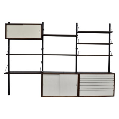 Cadovius Royal wall unit in wenge, Denmark 1960s