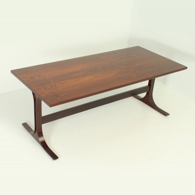 Rosewood Italian Dining Table, 1960's