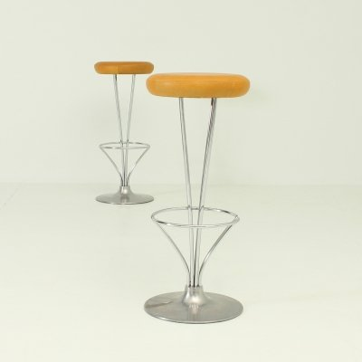 Pair of Piet Hein Stools for Fritz Hansen