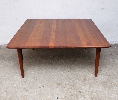 Solid Teak Coffee Table by A. Mikael Laursen