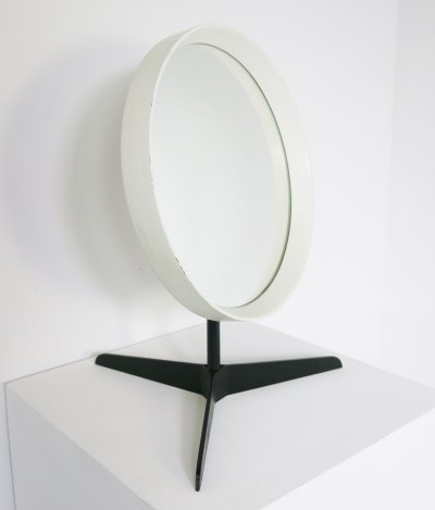 Table-mirror by Uno & Östen Kristiansson for Luxus, 1960's