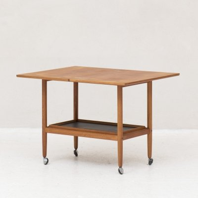 Trolley Table with flip top leaf, Denmark 1960's