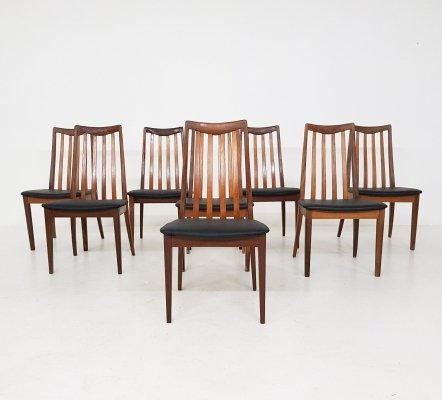 Set of 8 Dining Chairs by Leslie Dandy for G-Plan