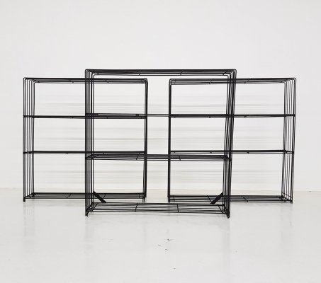 Room Divider or Bookcase by Tjerk Reijenga for Pilastro, Dutch Design 1960