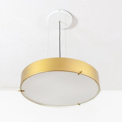 6 x Model 1090 hanging lamp by Bruno Gatta, 1950s
