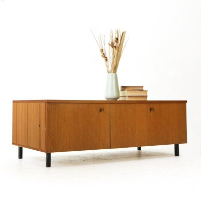 Low 1960s Teak Sideboard