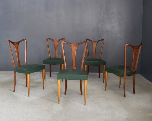 Set of 6 chairs by William Ulrich, 1940s