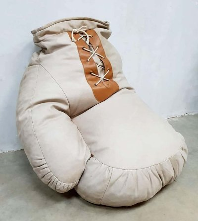 Vintage Boxing Glove beanbag by Ueli Berger for De Sede