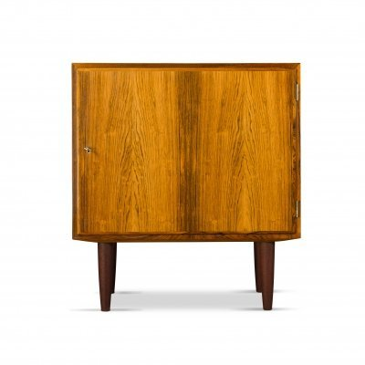 Small Mid-Century Danish Rosewood Cabinet by Carlo Jensen for Hundevad & Co., 1960s