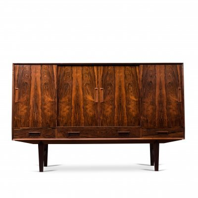 Danish Mid-Century Rosewood High Sideboard, 1960s