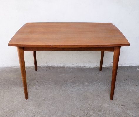 Teak Dining Table with extendable leaves