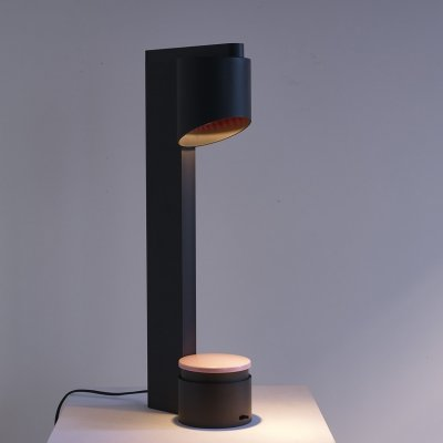 Table lamp Ring by Jean Pierre Vitrac, 1985
