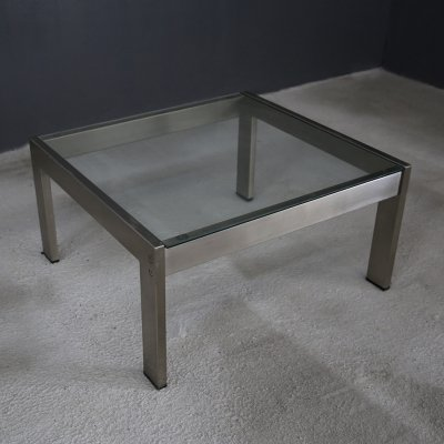 'Tau' coffee table by Gea Aulenti for Zanotta, with original label
