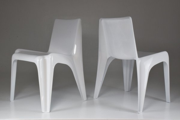 Pair of Mid-Century BA1171 Chairs by Helmut Bätzner, 1960's
