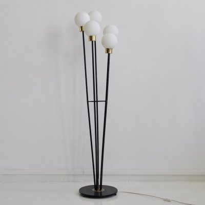 Floor Lamp with Five Lights by Arlus