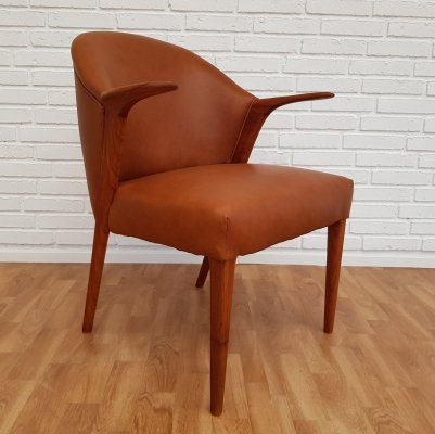 Model 31 Armchair by Kurt Olsen for Slagelse Møbelværk, 1960s