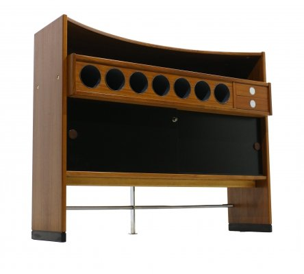 Teak Mobile Bar from Dyrlund, 1970s