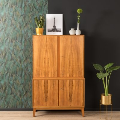 Walnut chest of drawers by WK Möbel from the 1950s