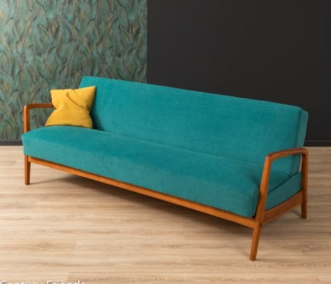 Beech wood sofa from the 1950s