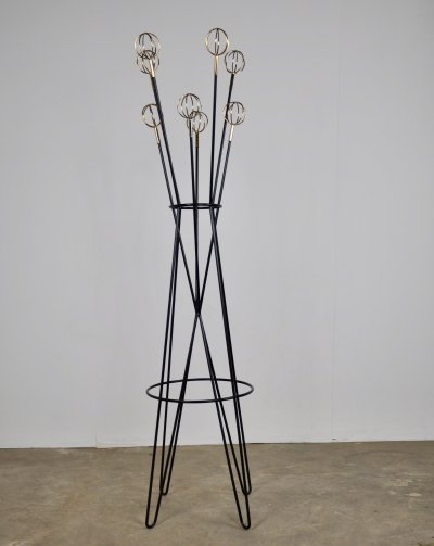 Coat rack Astrobal by Roger Feraud, 1950s