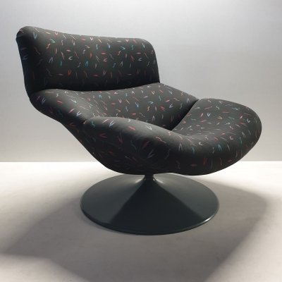 Model F518 lounge chair by Geoffrey Harcourt for Artifort, 1980s