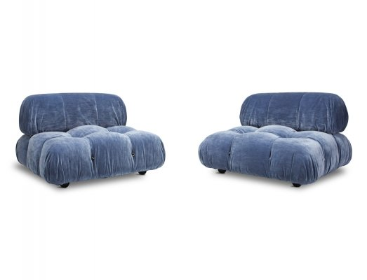 Pair of 'Camaleonda' Seating Elements by Mario Bellini, 1970s