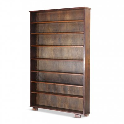 Vintage Large Oak Bookcase