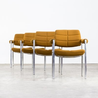 Set of 4 Miller Borgsen dining chairs for Röder Söhne, 1960s