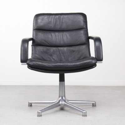 2 x F978 Channel office chair by Geoffrey Harcourt for Artifort, 1960s