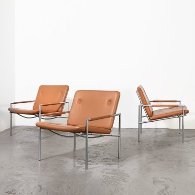 Martin Visser set of 3 SZ03 Easy Chairs for 't Spectrum, 1969