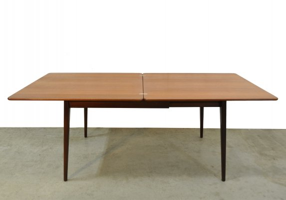 Vintage teak dining table, Netherlands 1970s