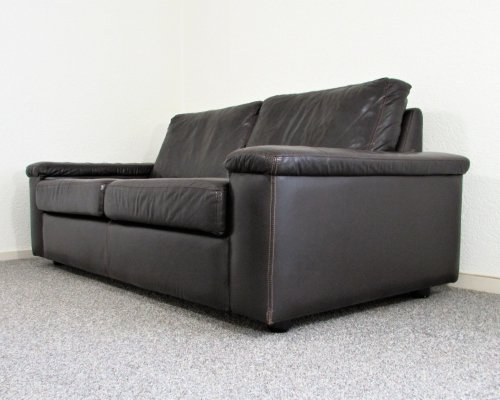 Leather two seat Sofa by Gelderland, 1970's