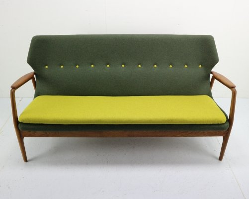 Aksel Bender Madsen Wingback Sofa for Bovenkamp, 1950s